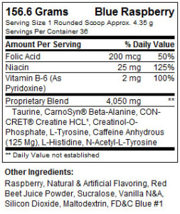 promera-beta-cret-nutrition-info